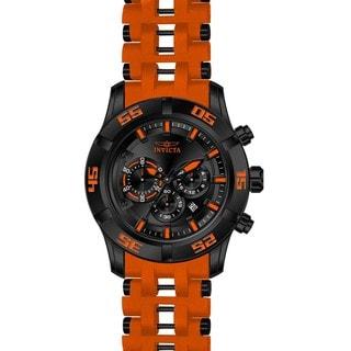 Invicta Men's 21822 Sea Spider Quartz Chronograph Black Dial Watch