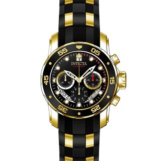 Invicta Men's 21928 Pro Diver Quartz Multifunction Black Dial Watch