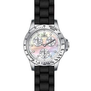 Invicta Women's 21968 Speedway Quartz Chronograph White Dial Watch