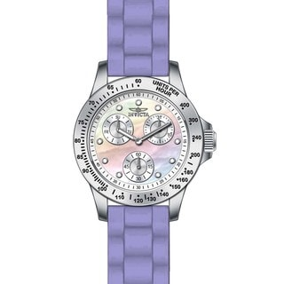 Invicta Women's 21969 Speedway Quartz Chronograph White Dial Watch