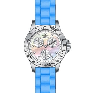 Invicta Women's 21970 Speedway Quartz Chronograph White Dial Watch