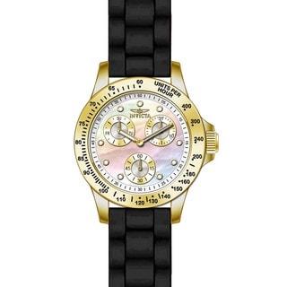 Invicta Women's 21973 Speedway Quartz Chronograph White Dial Watch