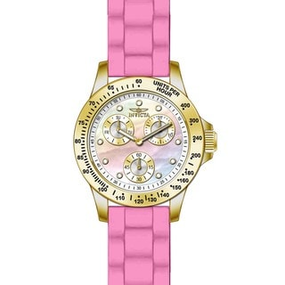 Invicta Women's 21982 Speedway Quartz Chronograph White Dial Watch