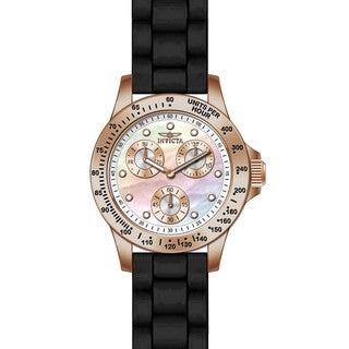 Invicta Women's 21986 Speedway Quartz Chronograph White Dial Watch
