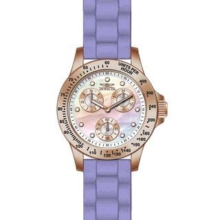 Invicta Women's 21988 Speedway Quartz Chronograph White Dial Watch
