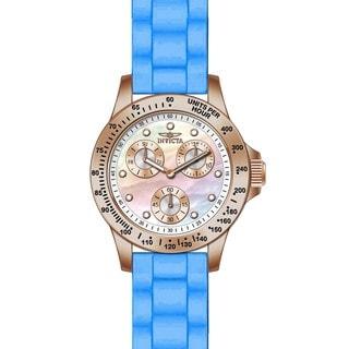 Invicta Women's 21990 Speedway Quartz Chronograph White Dial Watch