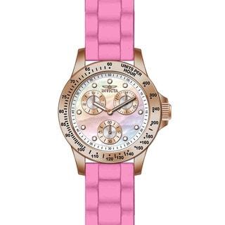 Invicta Women's 21993 Speedway Quartz Chronograph White Dial Watch