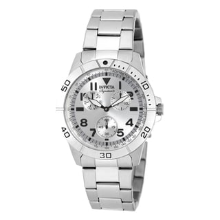 Invicta Men's 7078 Signature Quartz Multifunction Silver Dial Watch