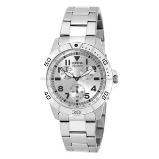 Invicta Men's 7078 Signature Quartz Multifunction Silver Dial Watch