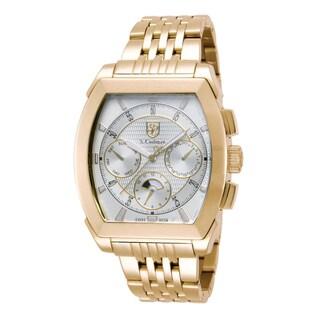 S. Coifman Men's SC0095 Quartz Chronograph Silver Dial Watch