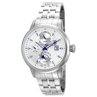 S. Coifman Men's SC0209 Quartz Multifunction Silver Dial Watch