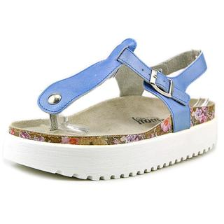 Coolway Women's Sadira Blue Leather Sandals
