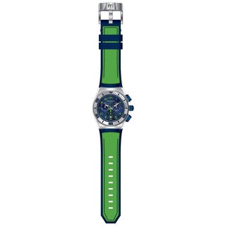 Technomarine Men's TM-115011 Cruise California Quartz Blue, Green Dial Watch