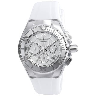 Technomarine Women's TM-115038 Cruise Original Quartz Chronograph Antique Silver Dial Watch