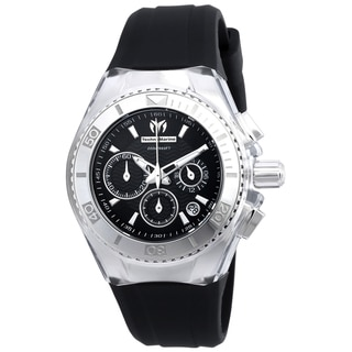 Technomarine Women's TM-115039 Cruise Original Quartz Chronograph Black Dial Watch