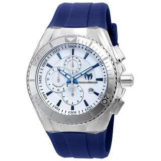 Technomarine Men's TM-115052 Cruise Original Quartz Chronograph Antique Silver Dial Watch
