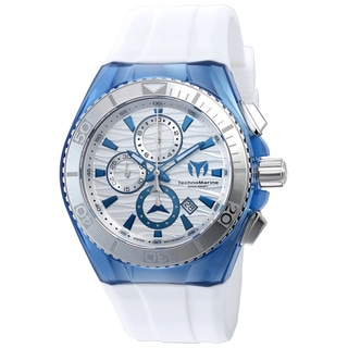 Technomarine Men's TM-115055 Cruise Original Quartz Chronograph Antique Silver Dial Watch