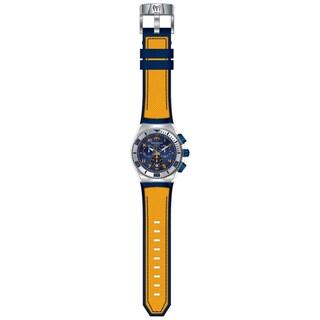 Technomarine Men's TM-115070 Cruise California Quartz Blue, Yellow Dial Watch