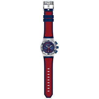 Technomarine Men's TM-115071 Cruise California Quartz Chronograph Blue, Red Dial Watch