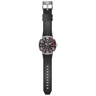 Technomarine Men's TM-515010 Black Reef Quartz Black Dial Watch