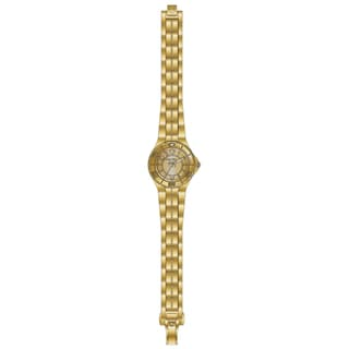 Technomarine Women's TM-715010 Sea Pearl Quartz 3 Hand Gold Dial Watch