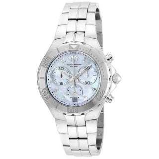 Technomarine Men's TM-715014 Sea Pearl Quartz White Dial Watch