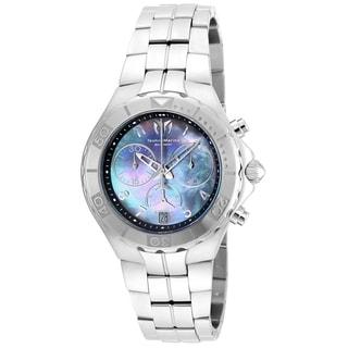 Technomarine Men's TM-715013 Sea Pearl Quartz Black Dial Watch
