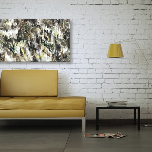 artmaison canada sanjay patel dark forest abstract canvas print