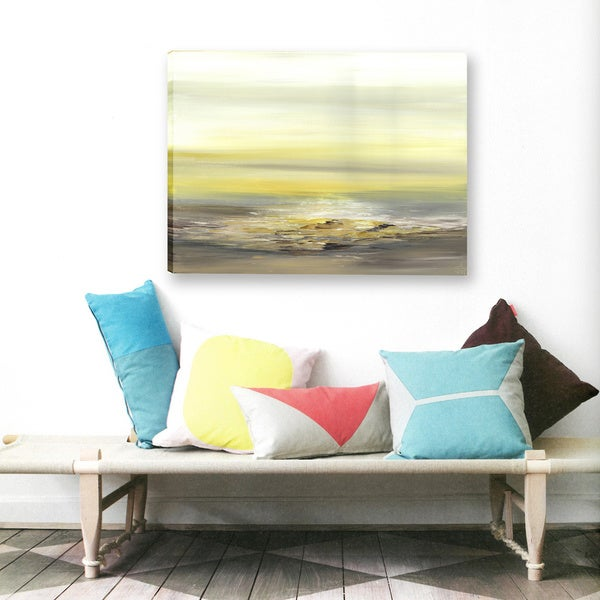 ArtMaison Canada. Sanjay Patel, Bright Light Abstract, Canvas Print Canvas Wall Art Decor, Gallery Wrapped 30X40