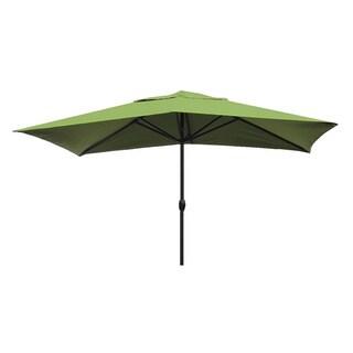 Escada Designs Lime Green 10' x 6' Rectangular Patio Umbrella