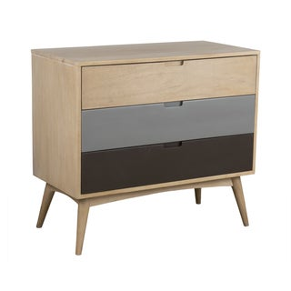 Crafted Home's Lucas 3 Drawer Chest with Hand Painted Drawers