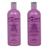 ApHogee 2-piece Deep Moisture 16-ounce Shampoo and ProVitamin Leave-In Conditioner Set