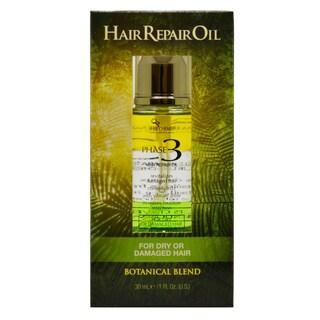 Hair Chemist Phase 3 1-ounce Hair Repair Oil for Dry/Damaged Hair