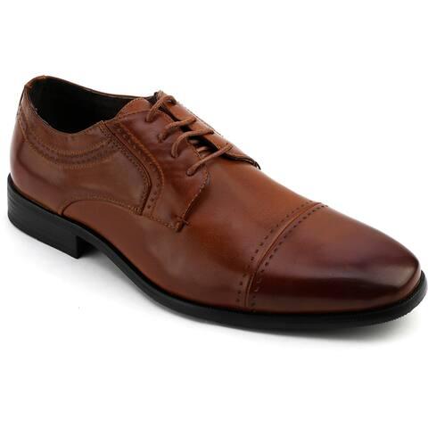 Xray Men's Fleet Captoe Leather Oxford