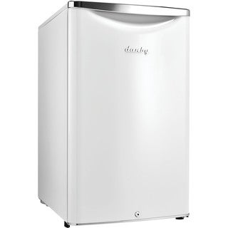 Danby DAR044A6PDB 4.4-cubic-foot Pearl White Variable Temperature-control Compact Refrigerator