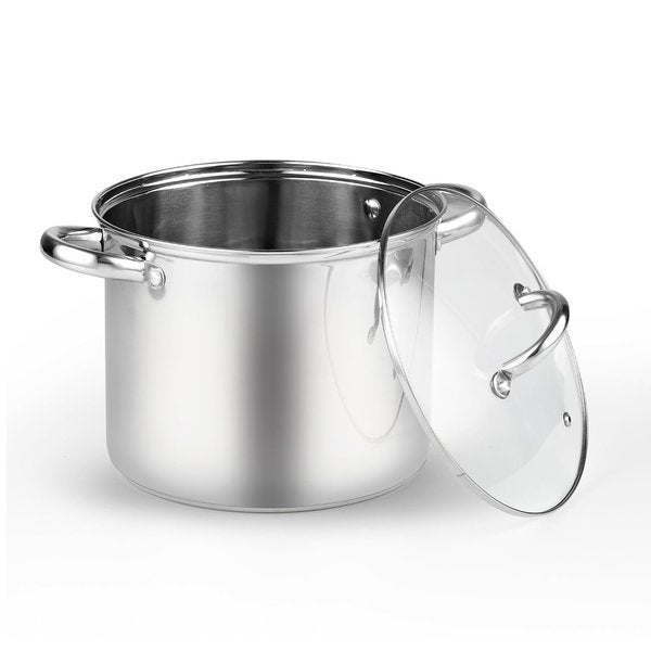 Cook N Home 2480 Stainless Steel 6-quart Stockpot With Lid