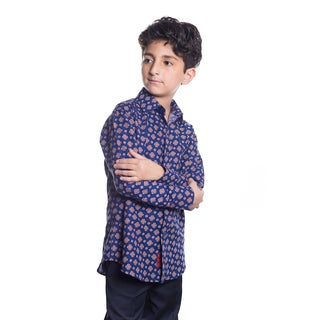Elie Balleh Boy's Milano Italy 2016 Style Slim Fit Shirt