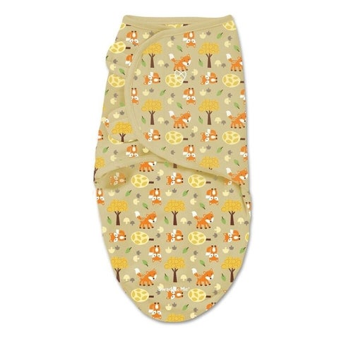 Summer Infant's SwaddleMe Fox And Friends WrapSack