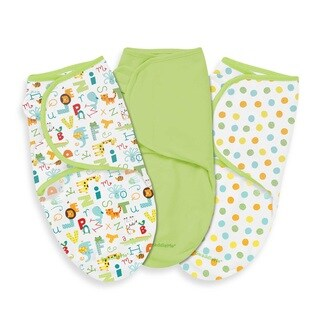 Summer Infant ABC Animals SwaddleMe Wrap (Pack of 3)