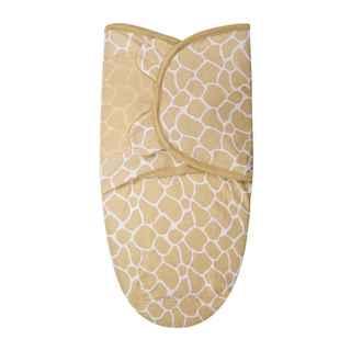 Summer Infant SwaddleMe Orange Cotton Small Giraffe Print Blanket