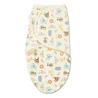 Summer Infant Little Jungle Small SwaddleMe Single Blanket