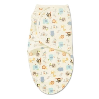 SwaddleMe 'Little Jungle' Multicolored Cotton Swaddle
