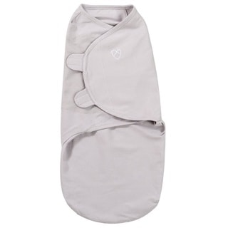 Summer Infant SwaddleMe Grey Cotton Large Blanket