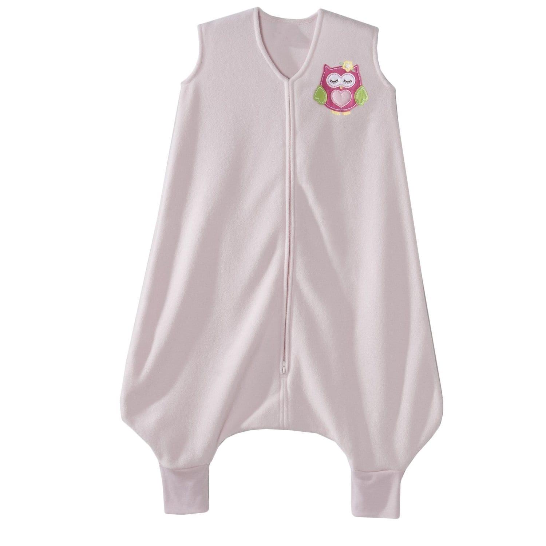Halo Early Walker Owl Pink Micro-fleece Large SleepSack (...