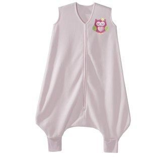 Halo Early Walker Owl Pink Micro-fleece Large SleepSack