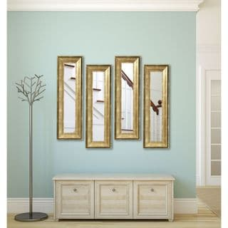 American Made Rayne Lustrous Champagne Panel Mirrors