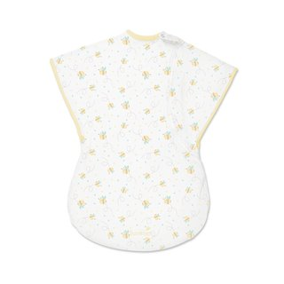 ComfortMe Infant White and Orange Cotton Wearable Blanket