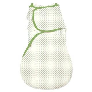Summer Infant SwaddleMe Green Cotton Wrapsack
