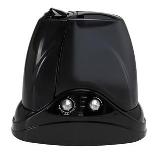 Hunter 1.5-gallon Ultrasonic Cool and Warm Mist Black Humidifier