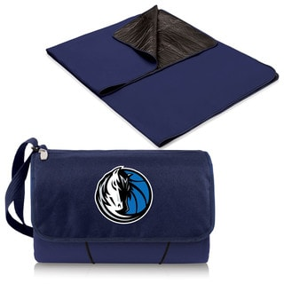Picnic Time Dallas Mavericks Navy Polyester/Plastic Blanket Tote
